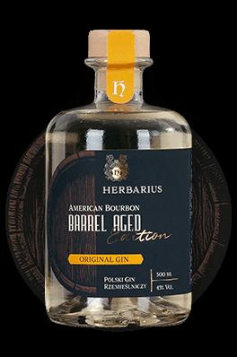 Herbarius Gin Leżakowane w Beczkach